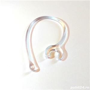 Clema casca universala Bluetooth, suport prindere agatatoare ureche  - imagine 2