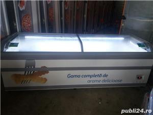 Vitrina/lada frigorifica/ vitrine frigorifice cu geam curbat,noi 2,5m  - imagine 19