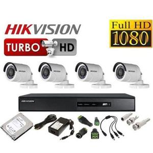 Kit supraveghere video complet cu 4 camere 2 Mp FULL HD IR DAHUA HIKVISION - imagine 2