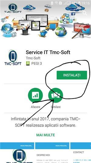 Descarca aplicatia Service IT Tmc-Soft si beneficiaza de servicii IT - imagine 1