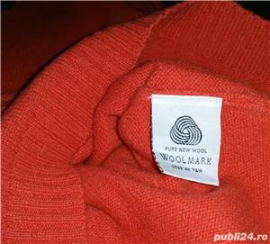 Pulover 100% Wool pure - imagine 5
