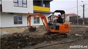 Inchiriez buldoexcavator bobcat miniexcavator - imagine 7