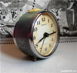 Ceas de masa desteptator rusesc SEVANI - imagine 3