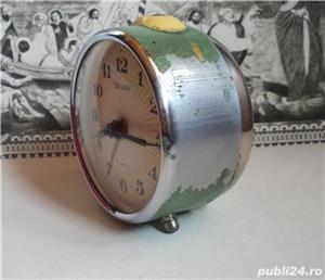 Ceas de masa desteptator rusesc SEVANI - imagine 4