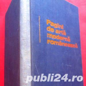 Pagini de arta moderna romaneasca, Radu Bogdan, 1974 - imagine 2