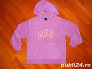 Hanorac de la GAP, foarte frumos,  culoare roz,  stare perfecta, marimi 11-12, 12-13, 13-14ani - imagine 2