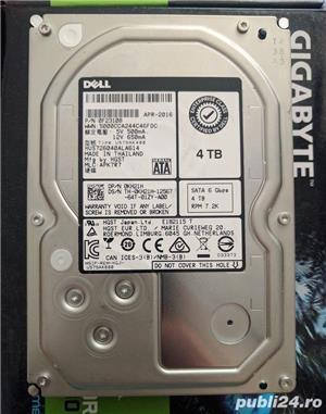 Hard disk 4TB Hitachi 128MB 7200rpm nou 3.5 Server PC Desktop NAS DVR hdd nou 4TB - imagine 1
