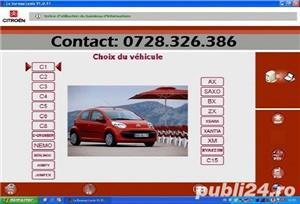 Diagnoza Citroen Peugeot Renault testare cu tester dedicat service rapid electrica auto la domiciliu - imagine 3