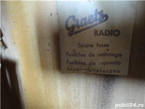 Radio pe lampi cu pickup(patefon) Marconi 344 - imagine 5