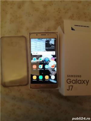 Samsung j7 2016 Gold  - imagine 1