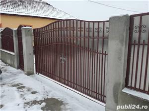 Reparam si executam porti, garduri scari, copertine, gratii si alte confectii metalice in Timisoara. - imagine 2