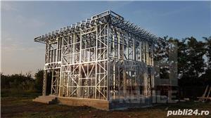 Structura metalica usoara pentru Case si Hale - de la 85 euro+TVA/mp - imagine 5