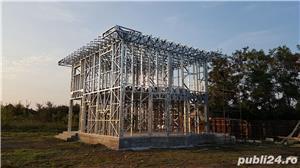 Structura metalica usoara pentru Case si Hale - de la 85 euro+TVA/mp - imagine 4