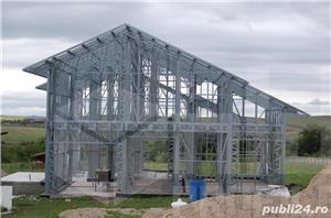 Structura metalica usoara pentru Case si Hale - de la 85 euro+TVA/mp - imagine 3