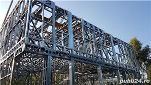 Structura metalica usoara pentru Case si Hale - de la 85 euro+TVA/mp - imagine 7