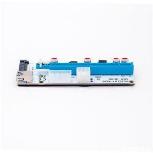 Riser PCIe pt. mining BTC ETH, 1x to 16x, VER008S, cablu USB 3.0 60cm - imagine 3
