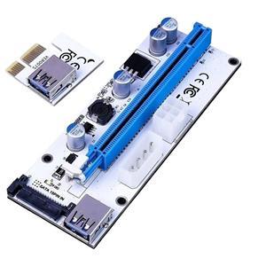 Riser PCIe pt. mining BTC ETH, 1x to 16x, VER008S, cablu USB 3.0 60cm - imagine 4