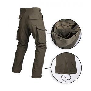 Pantaloni Militari Trilaminati Softhshell Oliv - imagine 2