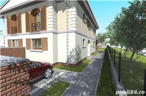 1/2 duplex la cheie proiect deosebit strada Stefan Luchian - imagine 4