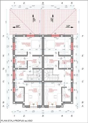 1/2 duplex la cheie proiect deosebit strada Stefan Luchian - imagine 8
