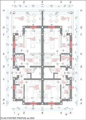1/2 duplex la cheie proiect deosebit strada Stefan Luchian - imagine 7