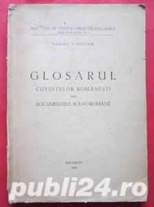 Glosarul cuvintelor romanesti din documentele slavo-romane, Damian P. Bogdan, 1946 - imagine 1