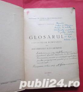 Glosarul cuvintelor romanesti din documentele slavo-romane, Damian P. Bogdan, 1946 - imagine 3