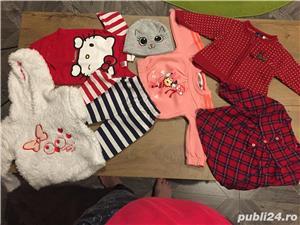 Lot haine bebe,fetite,bluza,camasa,Adidas,Disney - imagine 2