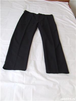 costum bucatar negru-alb - imagine 2