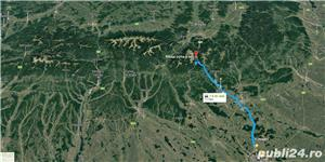 Investitie la 9 km de Sinaia. Teren Intravilan 3.000 mp Cota 1000 Moroeni DB pe DN71 - imagine 10
