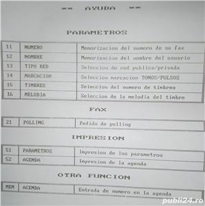 Vrei un fax-telefon fix mititel ? Uite unul mai vechi dar bun!  - imagine 3