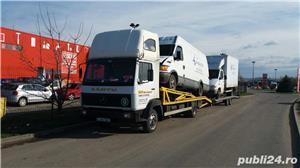 Mercedes-benz 814 transportor auto - imagine 9