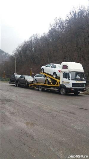 Mercedes-benz 814 transportor auto - imagine 10