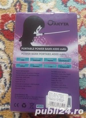 Power bank Akyta 4000 mah - imagine 2