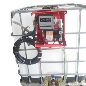 Bazin cu Pompa transfer  motorina  - imagine 1
