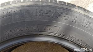 Set 4 anvelope vara Michelin Energy Saver 195/65 R15 91H in stare buna - imagine 4