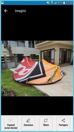 kitesurfing kitsurf kite zmeu - imagine 1
