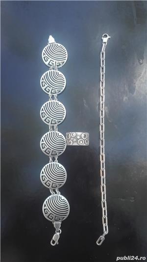 Set bijuterii din argint - imagine 5