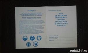 Fise de instructaj protectia muncii SSM si SU, Dosar medical - imagine 1