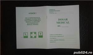 Fise de instructaj protectia muncii SSM si SU, Dosar medical - imagine 3