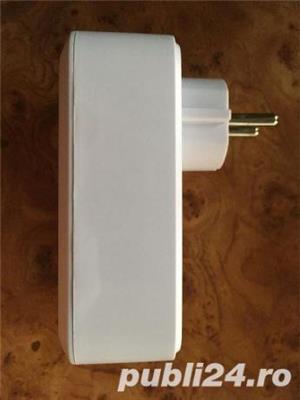 Priza cu wifi telecomandata de pe smartphone apple sau android,cu USB - imagine 6