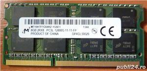 Memorie laptop PC3L, 8 GB-12800S,,Acer,Asus,Dell,HP,Lenovo,Clevo,MSI - imagine 7