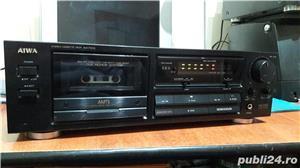 Aiwa AD-F410 sterea cassette deck AMTS - imagine 1
