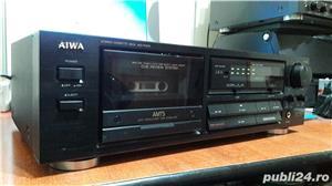 Aiwa AD-F410 sterea cassette deck AMTS - imagine 2