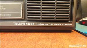 Boombox vintage Telefunken Bajazzo CR 7500 stereo - imagine 2