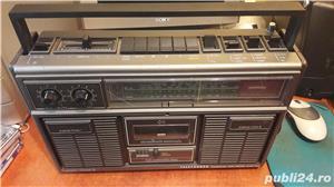 Boombox vintage Telefunken Bajazzo CR 7500 stereo - imagine 3