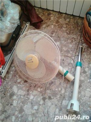 Ventilator cu suport si picior metalic in stare f buna de functionare - imagine 3