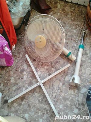 Ventilator cu suport si picior metalic in stare f buna de functionare - imagine 1