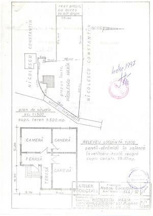 casa cu teren Bughea de Jos jud. Prahova - imagine 2