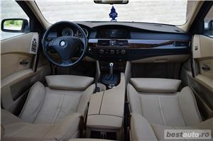 Vand BMW 530xd E60 231cp 4x4 xDrive Ventilatie HeadUpDisplay Navi Mare  - imagine 7